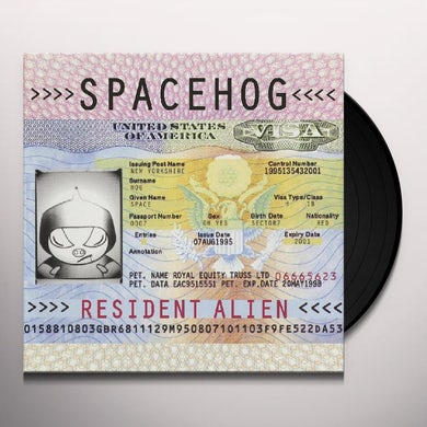 Spacehog RESIDENT ALIEN Vinyl Record