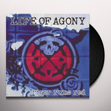 Life Of Agony RIVER RUNS RED Vinyl Record