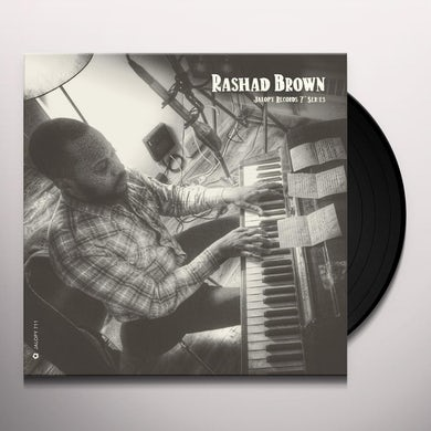 JALOPY RECORDS 7 SERIES: RASHAD BROWN Vinyl Record