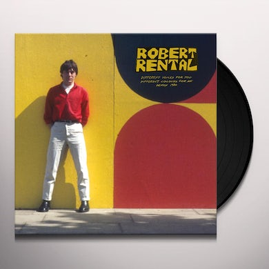 Robert Rental DIFFERENT VOICES FOR YOU DIFFERENT COLOURS FOR ME Vinyl Record