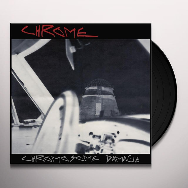 Chrome CHROMOSOME DAMAGE - LIVE IN ITALY 1981 Vinyl Record