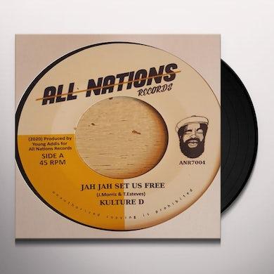 Kulture D / Higher Meditation JAH JAH SET US FREE / JAH JAH SET DUB FREE Vinyl Record