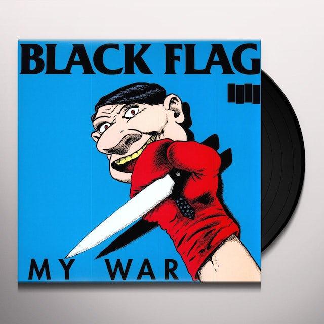 Black Flag MY WAR Vinyl Record