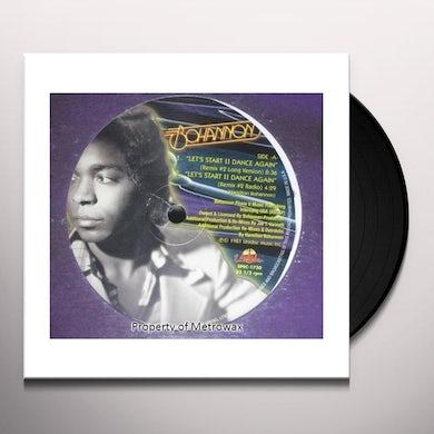 Bohannon LET'S START TO DANCE AGAIN 2 Vinyl Record