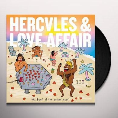 Hercules & Love Affair FEAST OF THE BROKEN HEART Vinyl Record