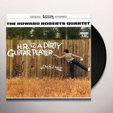Howard Roberts COLOR HIM FUNKY / HR IS A DIRTY GUITAR PLAYER Vinyl Record