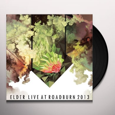 Elder LIVE AT ROADBURN 2013 Vinyl Record - UK Release