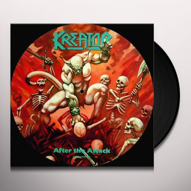 Kreator AFTER THE ATTACK (ROCKTOBER 2018 EXCLUSIVE) Vinyl Record