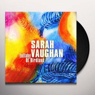 Sarah Vaughan LULLABY OF BIRDLAND Vinyl Record