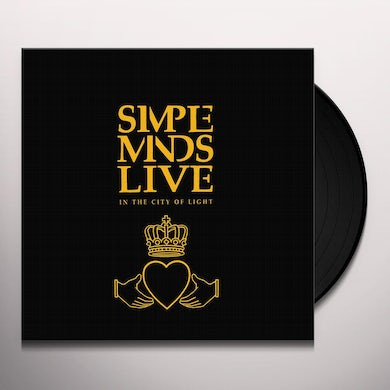 Simple Minds LIVE IN THE CITY OF ANGELS Vinyl Record