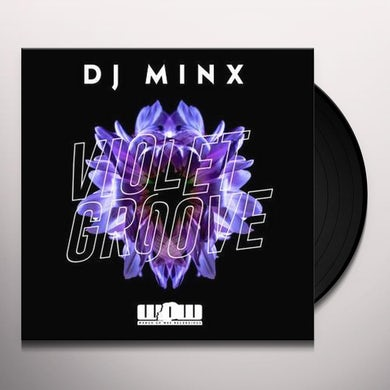 dj minx VIOLET GROOVE Vinyl Record
