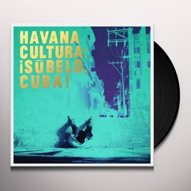 Subelo Cuba! HAVANA CULTURA Vinyl Record