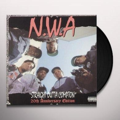 N.W.A. STRAIGHT OUTTA COMPTON: 20TH ANNIVERSARY EDITION Vinyl Record