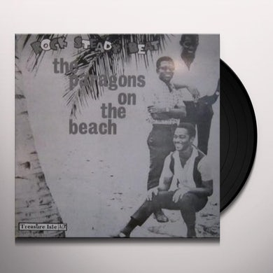 The Paragons ON THE BEACH Vinyl Record
