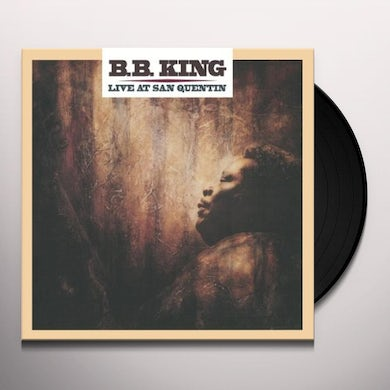 B.B. King LIVE AT SAN QUENTIN Vinyl Record