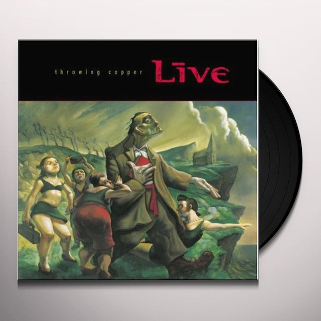 Live THROWING COPPER Vinyl Record