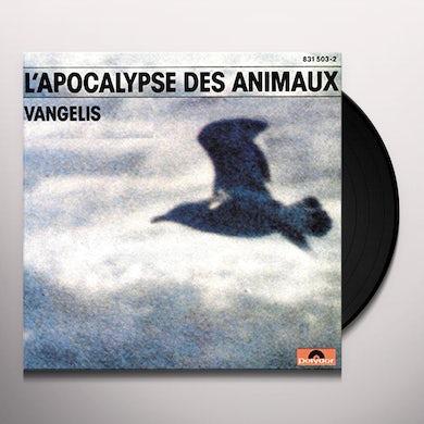 Vangelis L'APOCALYPSE DES ANIMAUX Vinyl Record