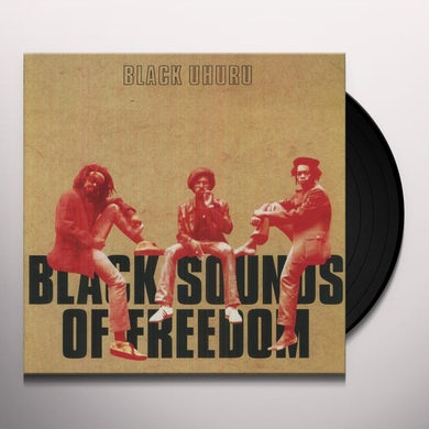 Black Uhuru BLACK SOUNDS OF FREEDOM Vinyl Record