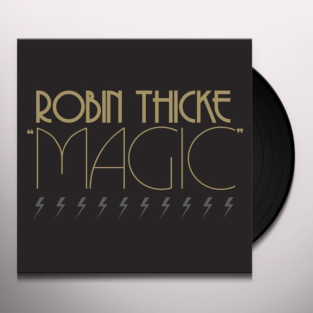 Robin Thicke MAGIC (X5) Vinyl Record