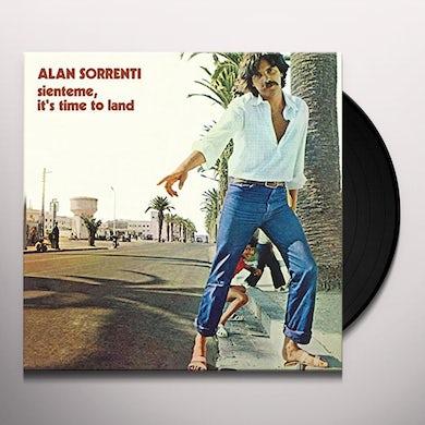 Alan Sorrenti SIENTEME IT'S TIME TO LAND Vinyl Record