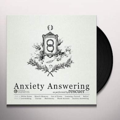 ANXIETY ANSWERING Vinyl Record