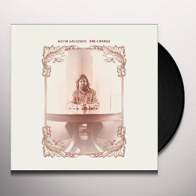 Kevin Galloway CHANGE Vinyl Record