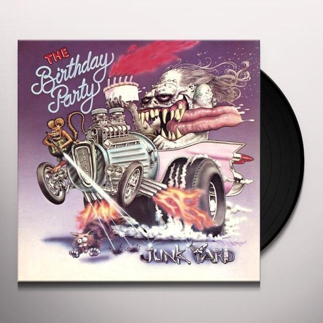 The Birthday Party JUNKYARD Vinyl Record
