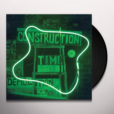 Wreckless Eric CONSTRUCTION TIME & DEMOLITION Vinyl Record