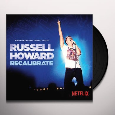 Russell Howard RECALIBRATE Vinyl Record
