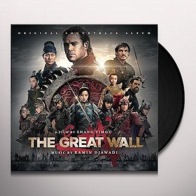 RAMIN DJAWADI GREAT WALL / Original Soundtrack Vinyl Record