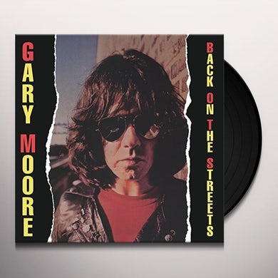 Gary Moore BACK ON THE STREETS Vinyl Record