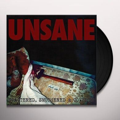 Unsane SCATTERED SMOTHERED & COVERED Vinyl Record