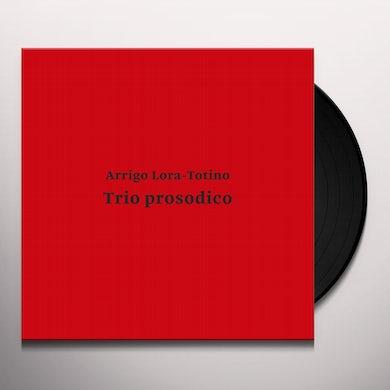 Arrigo Lora-Totino TRIO PROSODICO Vinyl Record