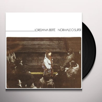 Loredana Berte NORMALE O SUPER Vinyl Record