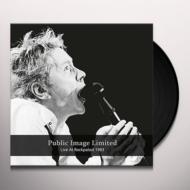 Public Image Ltd LIVE AT ROCKPALAST 1983 Vinyl Record