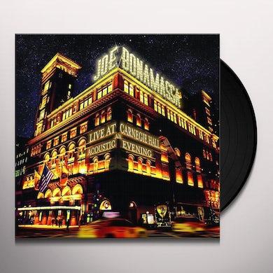 Joe Bonamassa Live At Carnegie Hall - An Acoustic Evening (3 LP) Vinyl Record
