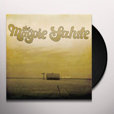 """Magpie Salute  In Here EP (10"""") Vinyl Record"""