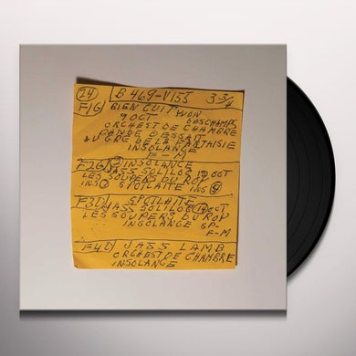 Here Comes The Cowboy Demos (LP) Vinyl Record