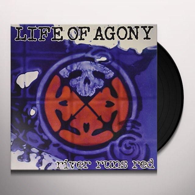 Life Of Agony RIVER RUNS RED Vinyl Record