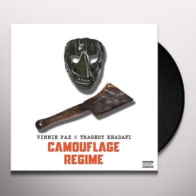 Vinnie Paz X Tragedy Khadafi CAMOFLAUGE REGIME Vinyl Record