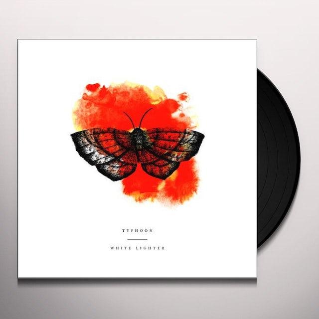 Typhoon WHITE LIGHTER Vinyl Record