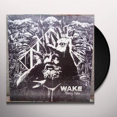 Wake MISERY RITES Vinyl Record