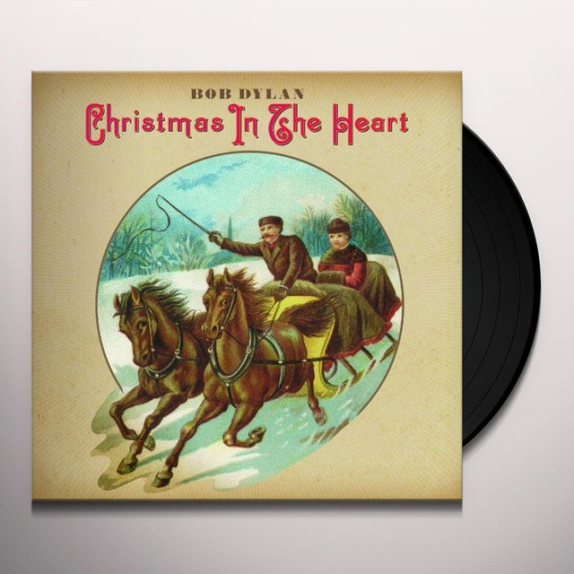 Bob Dylan CHRISTMAS IN THE HEART Vinyl Record