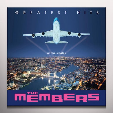 MEMBERS GREATEST HITS - Limited Edition Blue Colored Vinyl Record