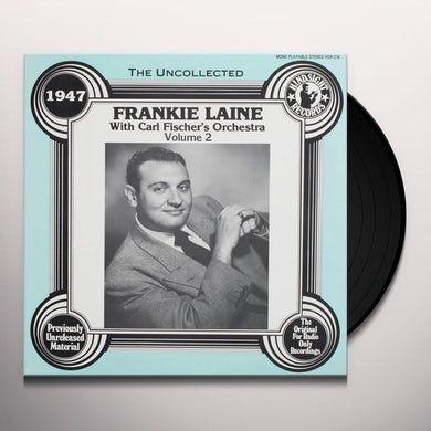 Frankie Laine / Carl Orchestra Fischer'S UNCOLLECTED 2 Vinyl Record