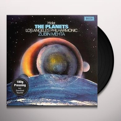HOLST PLANETS Vinyl Record