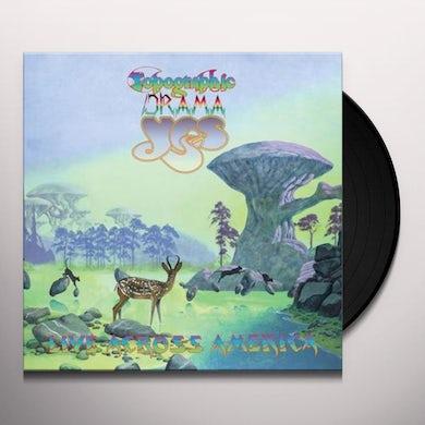 Yes TOPOGRAPHIC DRAMA - LIVE ACROSS AMERICA Vinyl Record