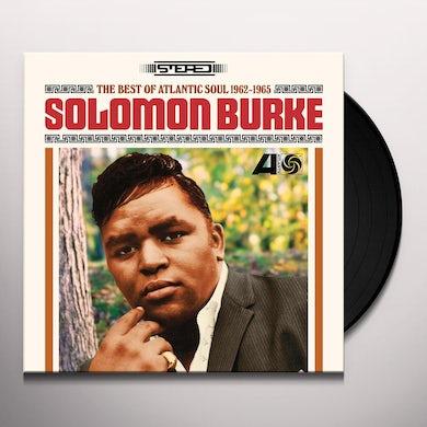 Solomon Burke BEST OF ATLANTIC SOUL 1962-1965 Vinyl Record