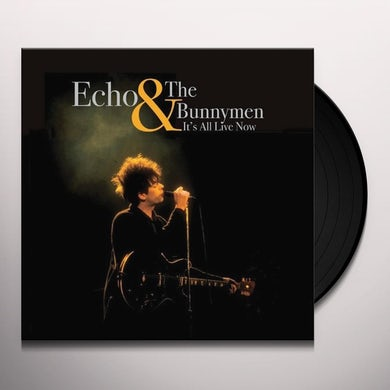 Echo & the Bunnymen IT'S ALL LIVE NOW Vinyl Record - Limited Edition, 180 Gram Pressing