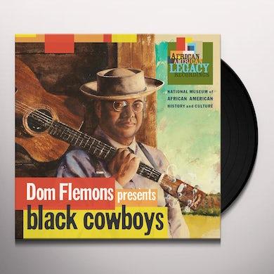 Don Flemons BLACK COWBOYS Vinyl Record